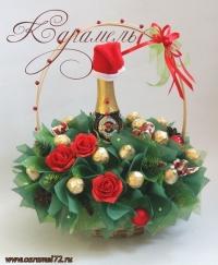 Корзина Новогодняя