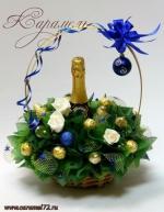Корзина Новогодняя №2